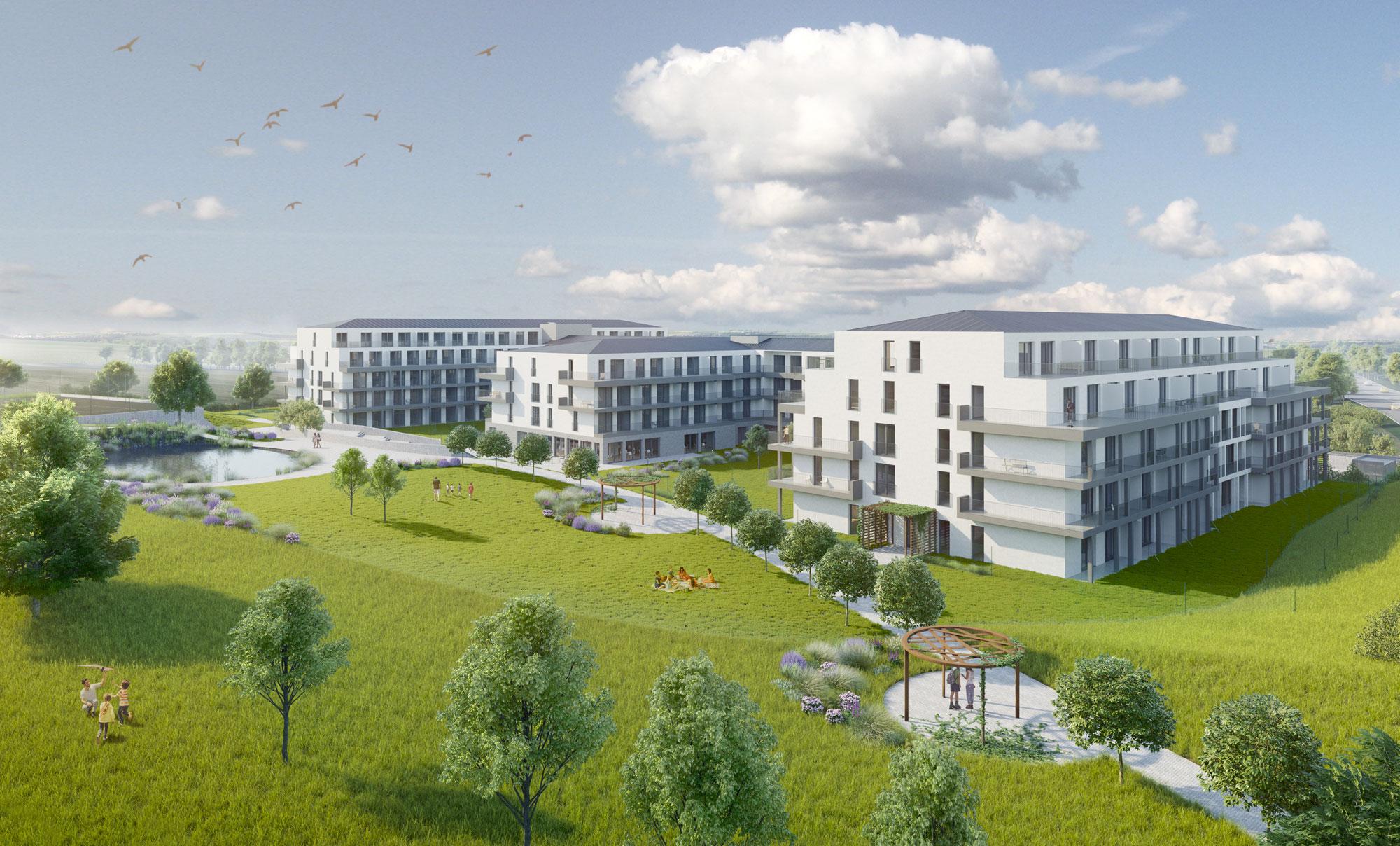 Další nové byty pro Horoměřice